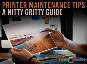 Printer maintenance guide