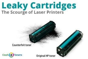 toner cartridge leak