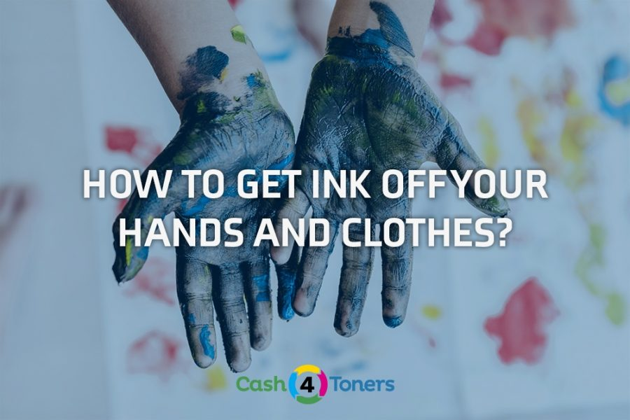 How To Get Ink Off Your Hands and Clothes