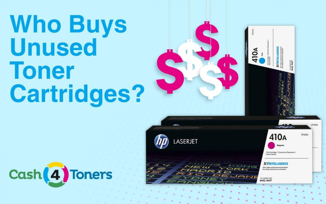 Who Buys Unused Toner Cartridges?