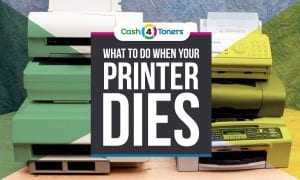 what to do when your printer dies