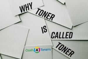 why is toner called toner