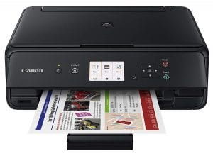 Canon PIXMA TS5020 BK Wireless color Photo Printer