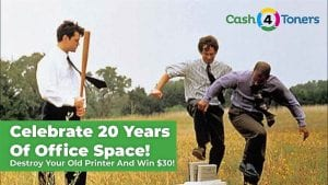 Smash your printer! Win 30 bucks!