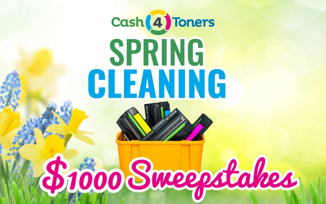 Big Bucks In Bloom During Cash 4 Toner's Spring Cleaning Sweepstakes