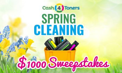 Cash 4 Toners $1,000 Spring Cleaning Sweepstakes