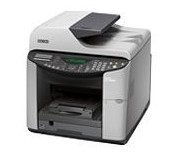 The least expensive Ricoh model we found was the Ricoh GX3000SF Color multifunction inkjet printer for around $200.