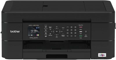 The Brother MFC-J491DW All-in-One inkjet sells for about $80