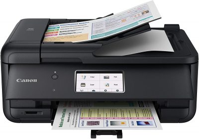 The Canon PIXMA TR8520 is a $90 do-it-all printer.