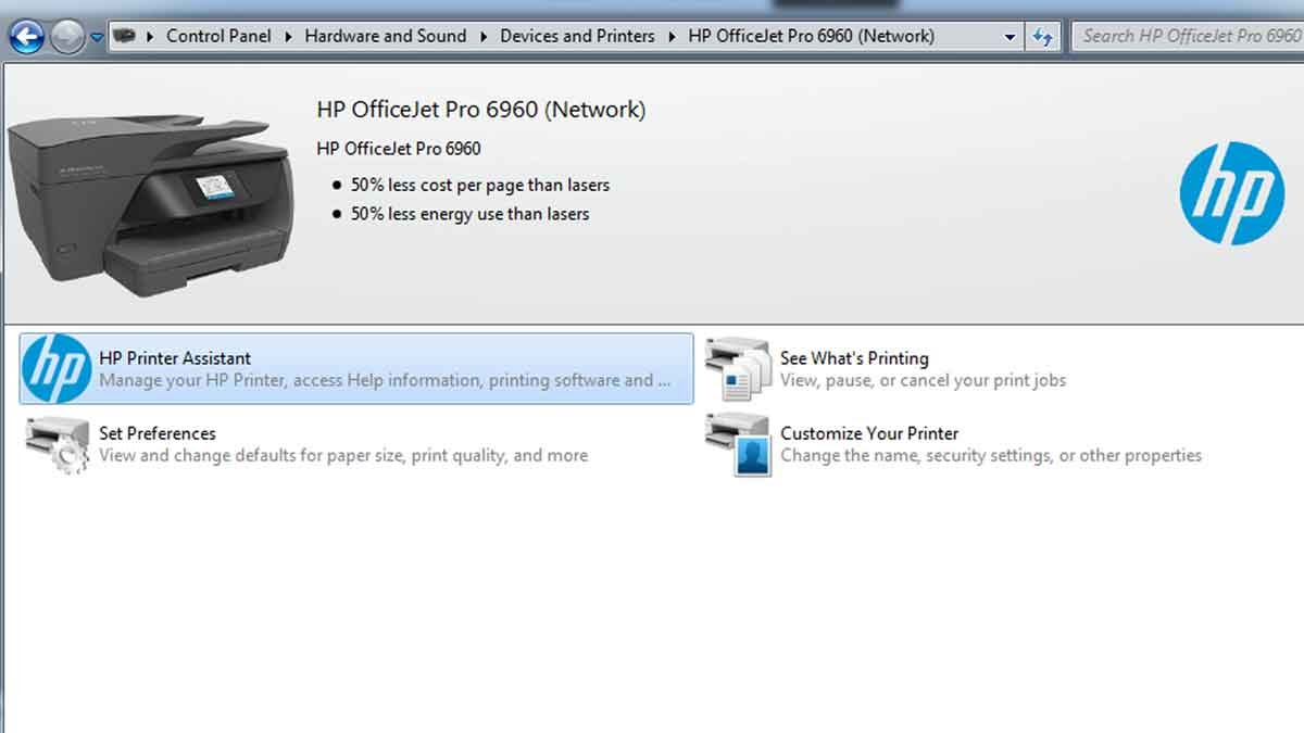 Disable HP instant ink in Windows